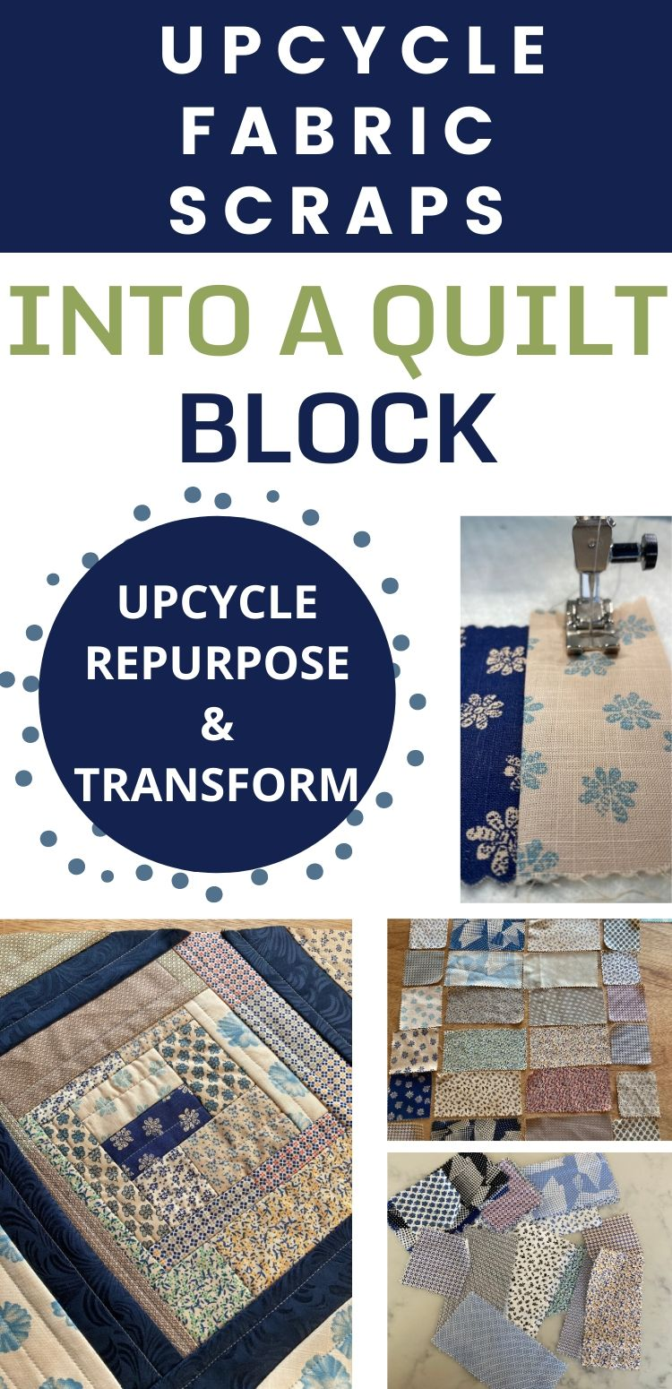 UPCYCLE fabric scraps