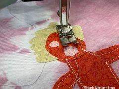 fabric applique