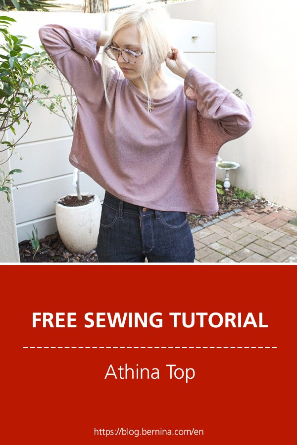 Free sewing pattern & instructions: Athina Top