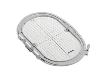 Image of Large oval hoop.