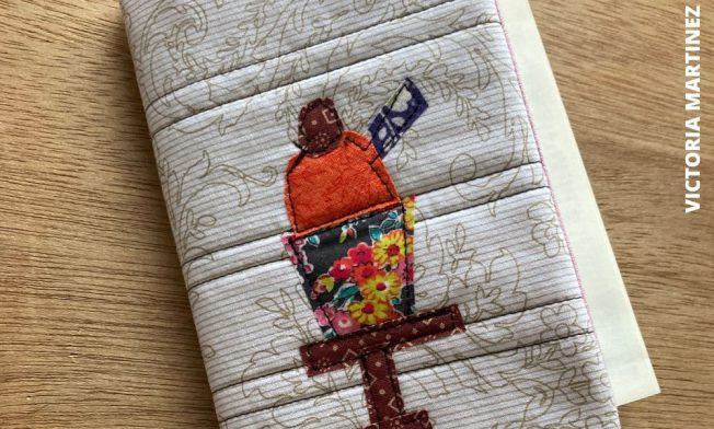 fabric book cover victoria martinez azaro