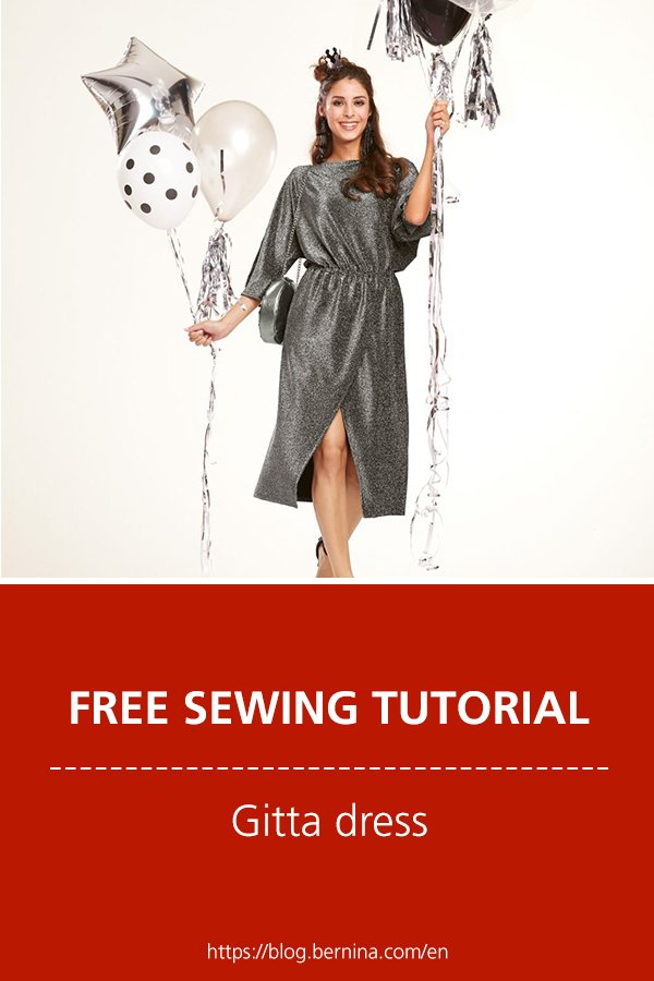 "Free sewing pattern & instructions: ""Gitta"" dress"