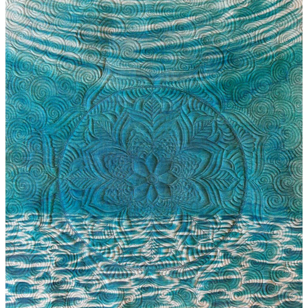 A Mandala on an Underwater Scene