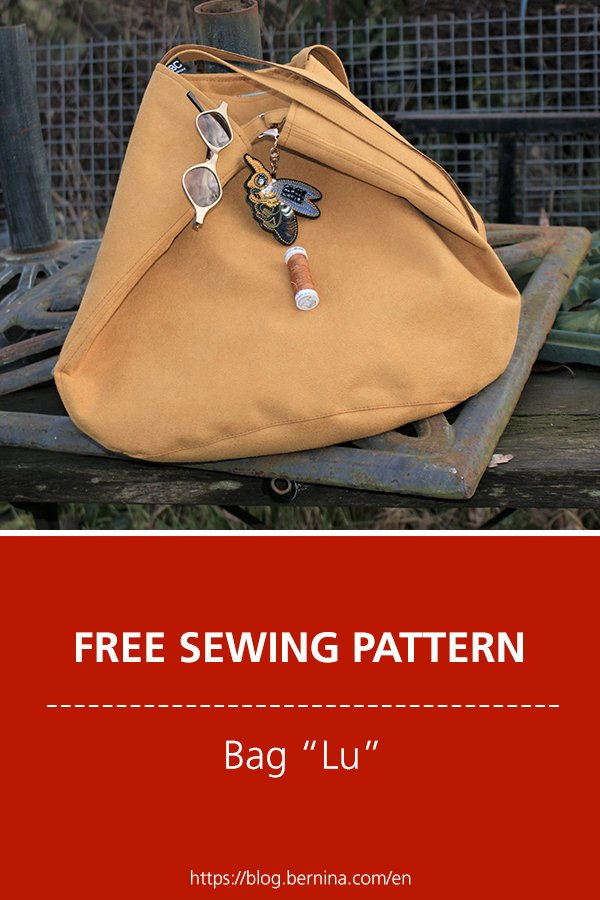 Free sewing pattern & instructions: Bag Lu