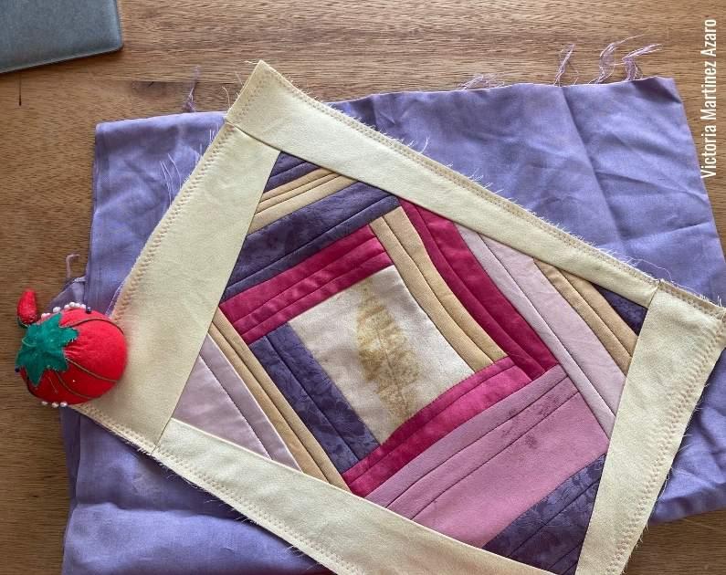 making a silk envelope pillow tutorial 1