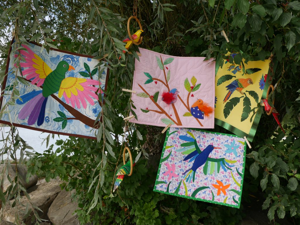BERNINA children's sewing project 2020: Animal pictures on land, on water and in the air