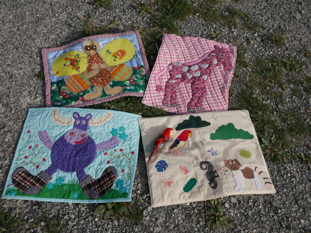 BERNINA children's sewing project 2020: Animal pictures on land