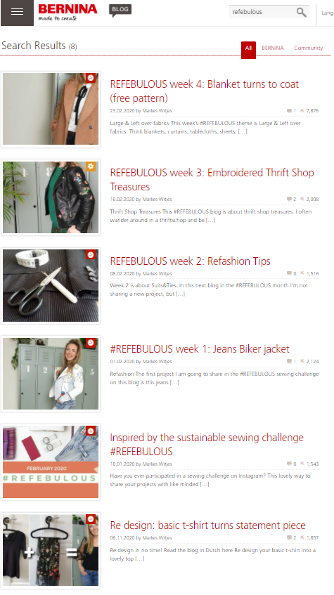 refashion blogs 2020