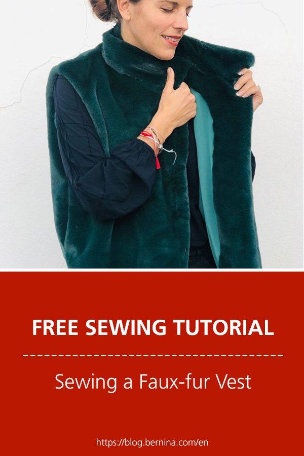 Sewing a Faux-fur Vest