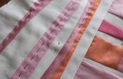 re purposed fabric piece
