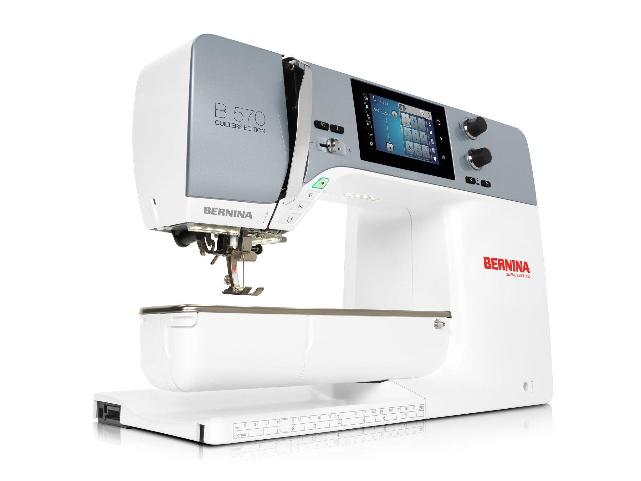 Final raffle: BERNINA Sewing Machine B 570 QE