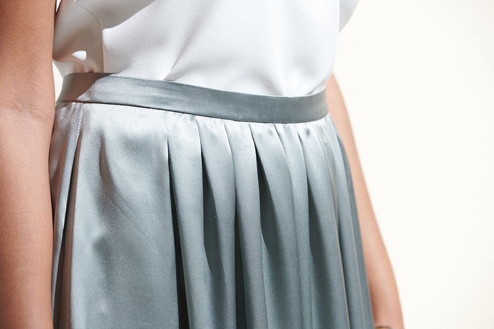 Sewing a airy and comfortable skirt
