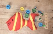 Sew a softie with children Fishee