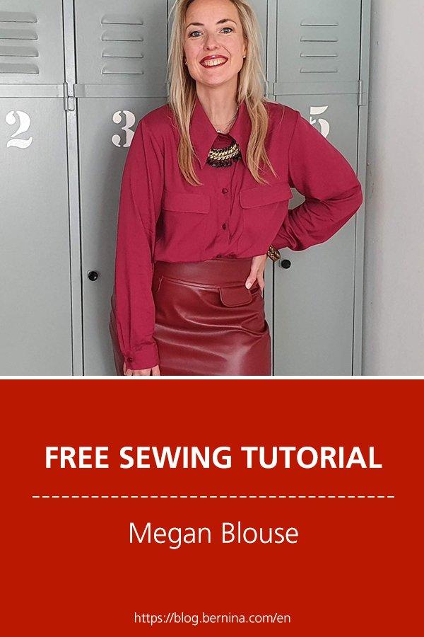 Free sewing pattern: Megan Blouse