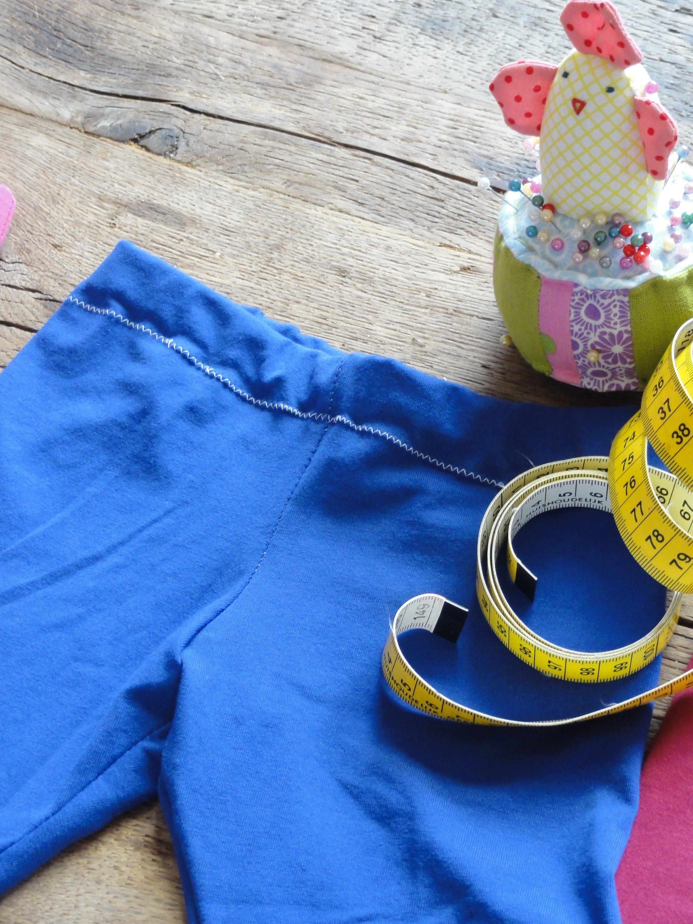 Overlocken met gewone naaimachine