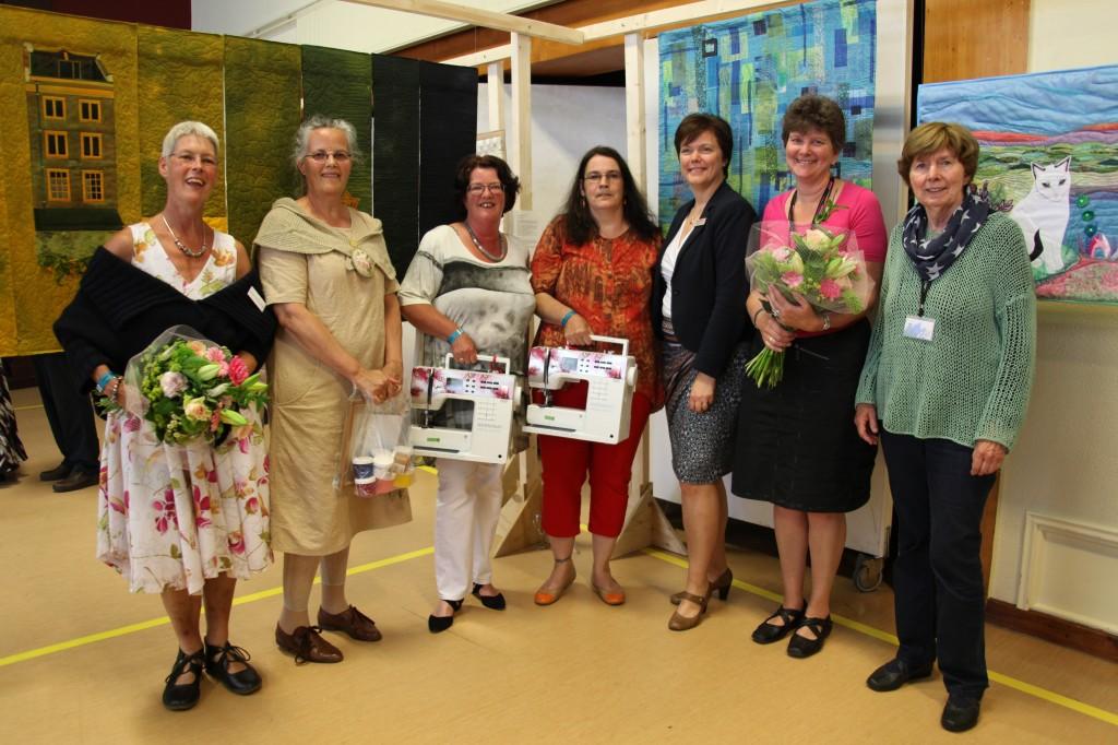 Prijswinnaars Quiltfestival 2014