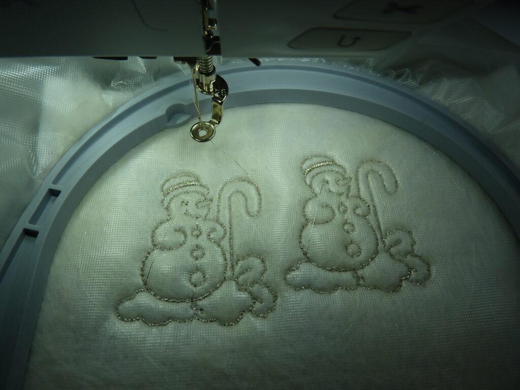 Sneeuwpopjes-punch