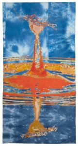 Marielle 2 Blauw Oranje wit klein