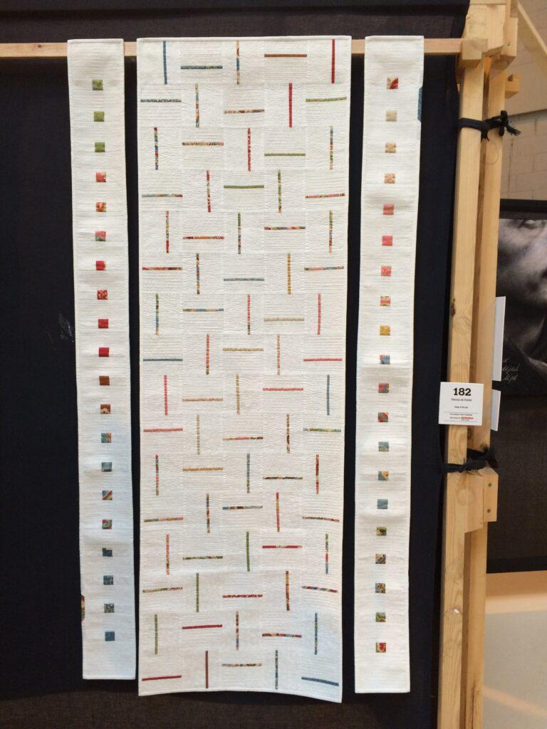 Dit is de quilt die ik dit jaar heb gemaakt voor het Festival of Quilts in Birmingham: Keep it Simple