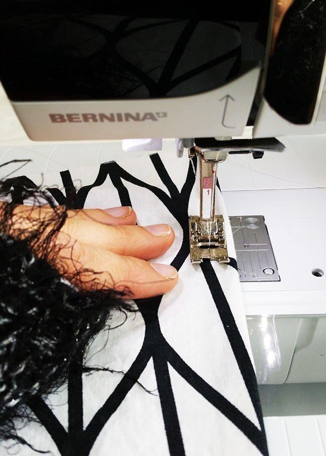 Tutorial kussenhoes - Pienkel voor Bernina