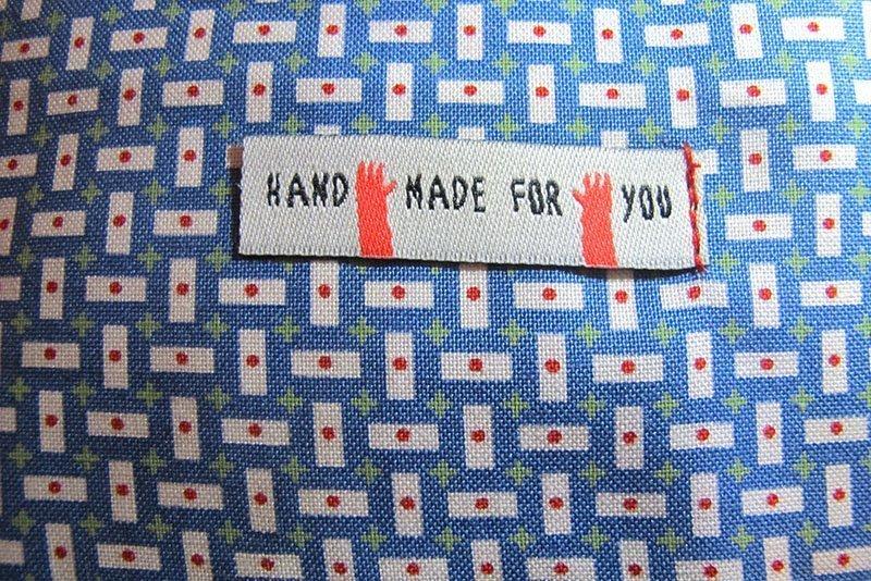 hv deken label naaien