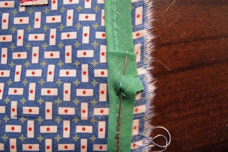 hv deken paspel overlapping gespeld