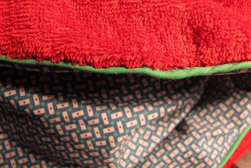 hv deken toegenaaid
