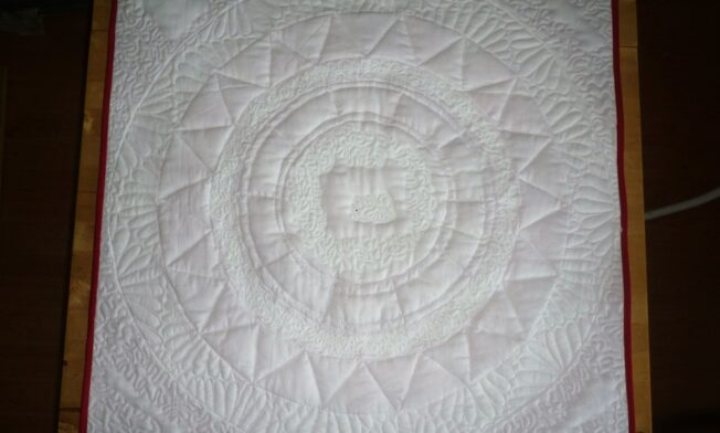 9achterkant quilt