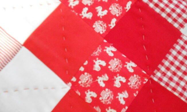 deken rood-wit detail 2