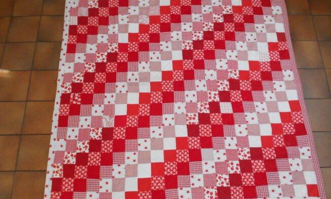 deken rood-wit voor 1