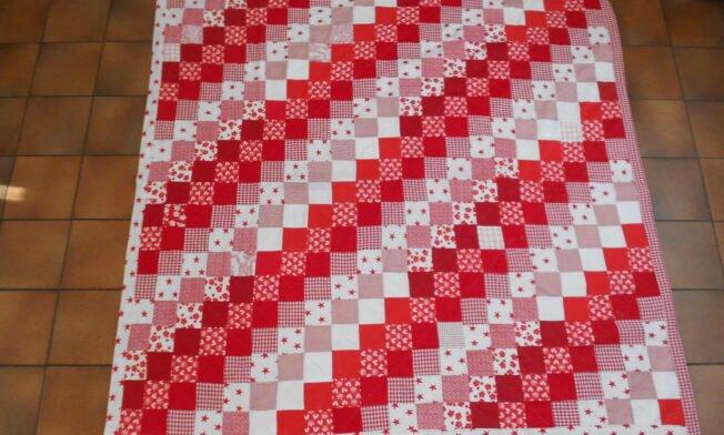 deken rood-wit voor 2