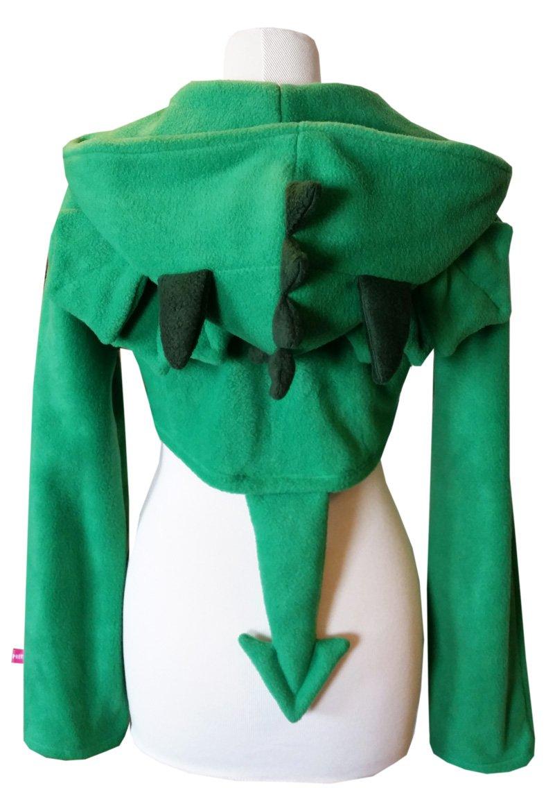 draak groen achter klein