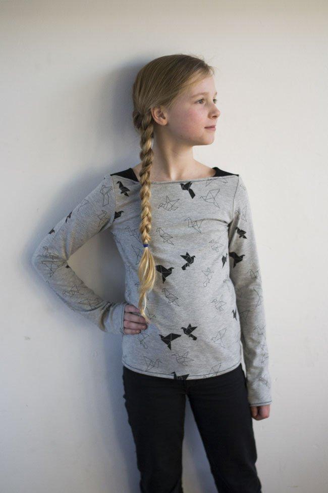 Veel tricot dus. Maar tricot verwerkt wel net even anders dan geweven stof, dus hier een paar tips en bijzonderheden over tricot.