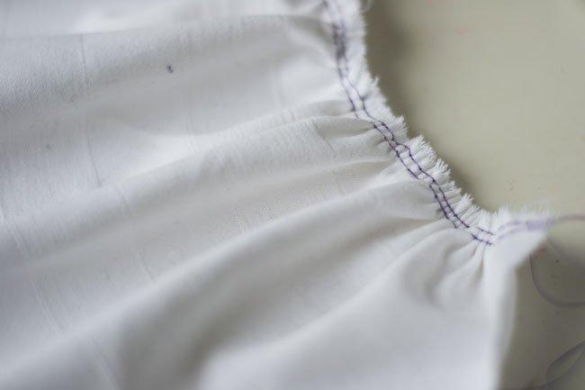 Rimpelen met de naaimachine - Pienkel voor Bernina