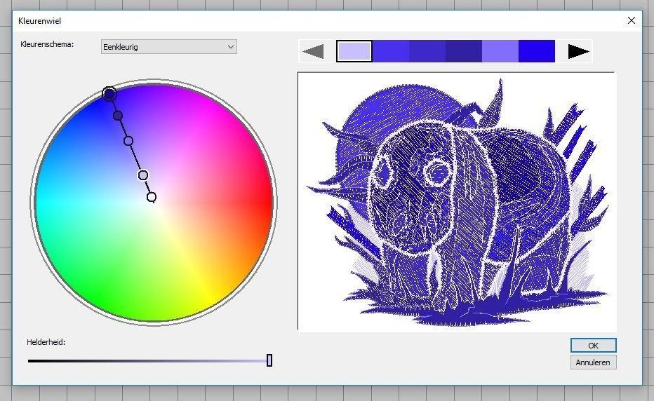 eenkleurig-blauw