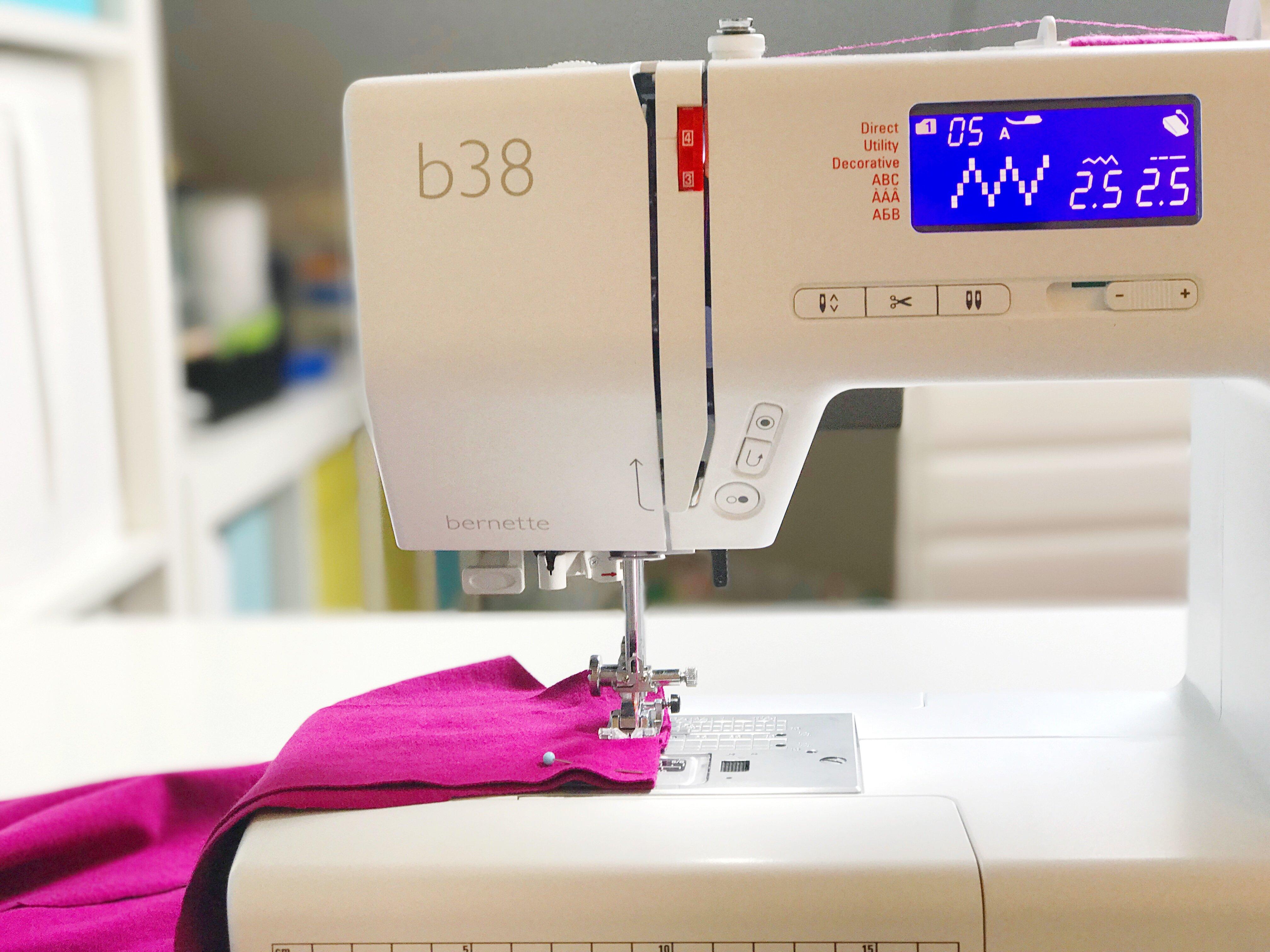 bernette 38 meer tijd naaimachine
