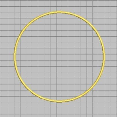cirkelverhoogdesatijnsteek