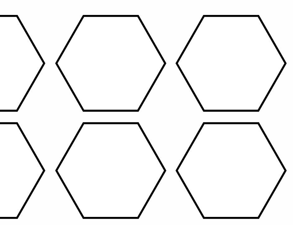 hexagons2inch