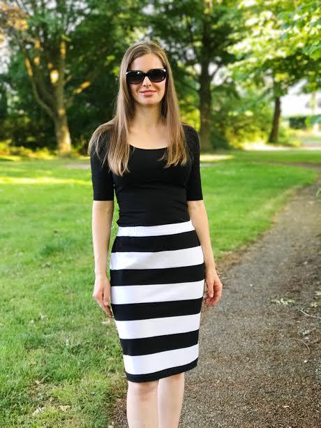 snelle gemakkelijke rok patroon