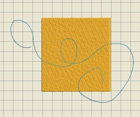 rechthoekmetswirl