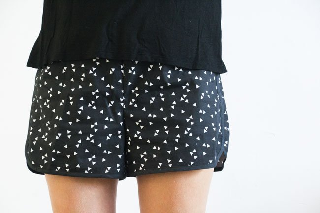 City Gym Shorts - Free Pattern by Purl Soho, sewn by Pienkel - S 2
