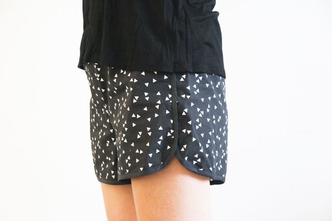 City Gym Shorts - Free Pattern by Purl Soho, sewn by Pienkel - S 3