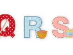 QRS alfabet