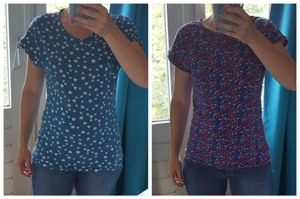 Gratis patroon gemakkelijk shirt