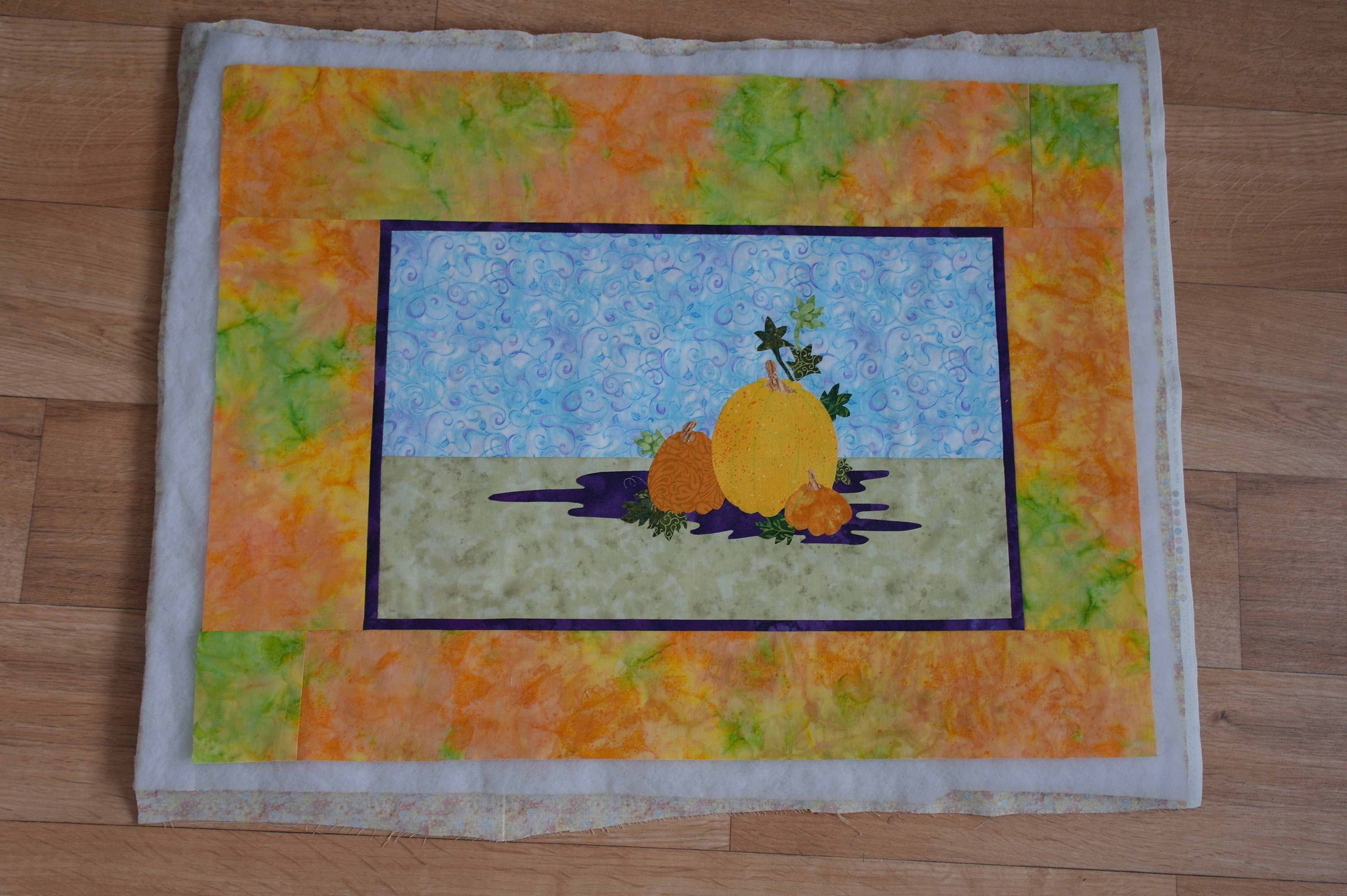 Appliqu For Autumn Part Two Pumpkin Quilting And Framing