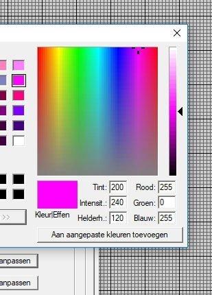 aangepastdefiniterenkleur