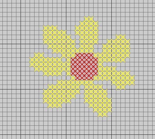 bloemkruissteek