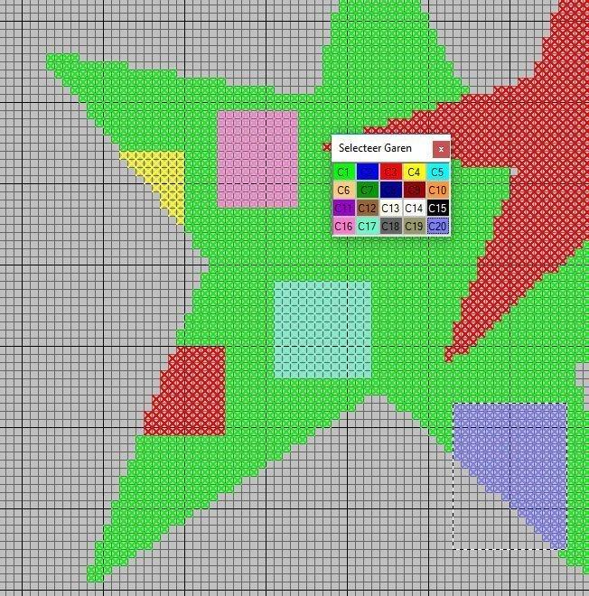 kleurenster