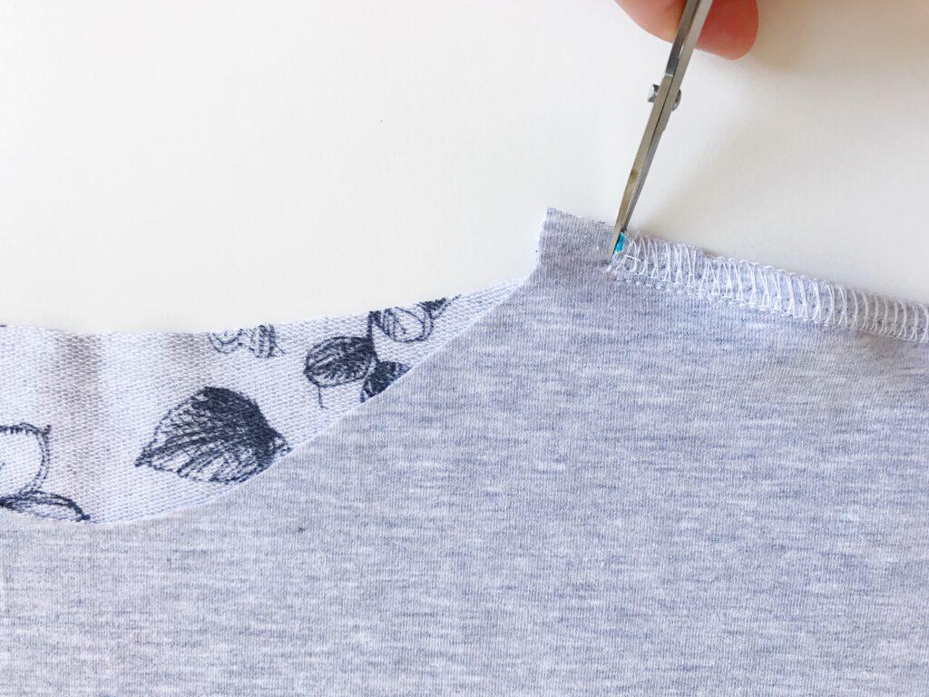 Vier Seizoenen Shirt omgekeerde zomen