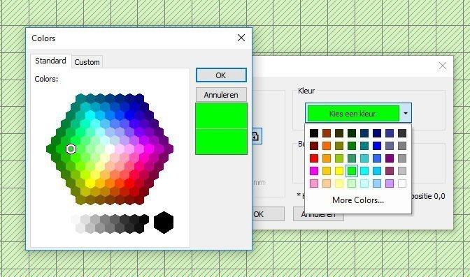 kleurwerkgebied